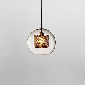 povoljno Viseća rasvjeta-Glob Privjesak Svjetla Downlight Electroplated Glass New Design 110-120V / 220-240V