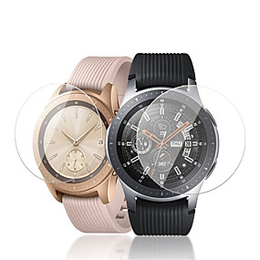 cheap Smartwatch Screen Protectors-Screen Protector For Samsung Galaxy Watch Tempered Glass High Definition (HD) 2 pcs