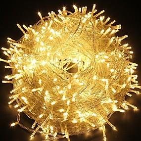 povoljno Božična svjetla-30m300leds vila string svjetiljke svjetiljka za xmas stablo odmor vjenčanja ukras povezati bijela / plava / višebojna / toplo bijelo 220-240v 1pc