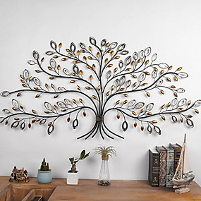 cheap Wall Accents-Novelty Wall Decor Alloy European Wall Art, Wall Hangings Decoration