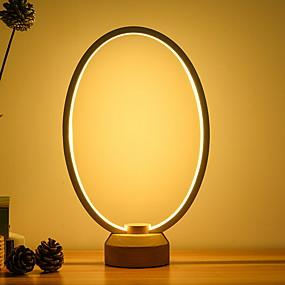 preiswerte Beleuchtung mit Stil-Künstlerisch Neues Design Tischleuchte Für Schlafzimmer / Studierzimmer / Büro Metall <36V