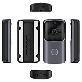 preiswerte Video Türsprechanlage-drahtlose 2,4 GHz / Wifi kein Bildschirm (Ausgabe per App) Telefon eins zu eins Video-Türsprechanlage