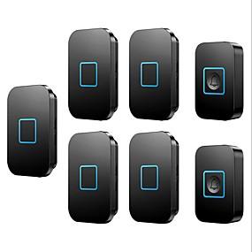 cheap Doorbell Systems-Wireless doorbell two tow five wireless pager intelligent electronic music doorbell home doorbell
