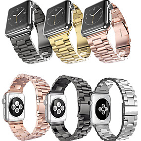 cheap Smartwatch Bands-Stainless Steel  Watch band For Apple Watch Series 6 SE 5 4 3 2 1  38mm 40mm 42mm 44mm