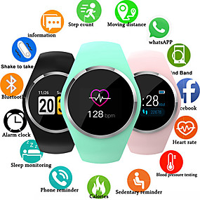 cheap Smart Watches-Q1 Smart Watch Women 0.96 Color LCD Screen Blood Pressure Heart Rate Monitor Smartwatch For Android IOS
