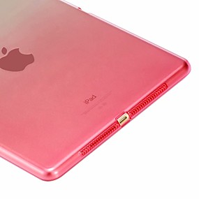 povoljno Kućište iPada-Θήκη Za Apple iPad Mini 5 / iPad New Air (2019) / iPad Air Otporno na trešnju / Prozirno Stražnja maska Prijelaz boje Mekano TPU / iPad Pro 10.5 / iPad 9.7 (2017)