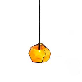 povoljno Lámpatestek-Geometrijski Privjesak Svjetla Ambient Light Glass Glass Kreativan 110-120V / 220-240V Meleg fehér / Bijela