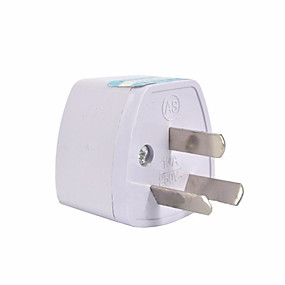 cheap Wall Chargers-3 pin AU Converter US/UK/EU to AU Plug Charger For Australia New Zealand