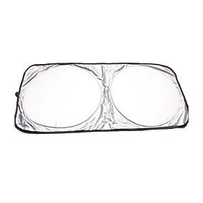 billige Bilovertrekk-150x80cm sammenleggbart frontrute for frontrute solskjermvisir uv-beskyttelsesskjermdeksel