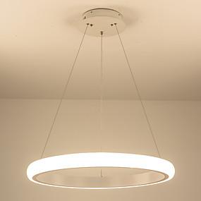 povoljno Viseća rasvjeta-vodio moderni akril lusteri vodio krug luster privjesak svjetla stropno osvjetljenje za dnevni boravak akril lampara de techo zatvoreni inventar 110-120v / 220-240v