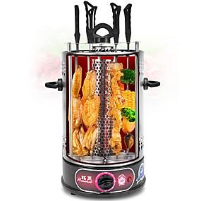preiswerte Elektroöfen-elektrischer Grill rotierender bertical Grillspieß rauchloser elektrischer Grill mit 6 Gabeln au Stecker 220v