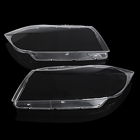 cheap Car Light Decoration-Car Headlight Lamp Lens Shell Clear Cover Left/Right for BMW 3 Series E90 2006-2012