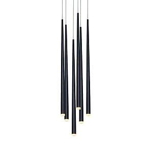 povoljno Lámpatestek-moderni luster svjetlo visi svjetiljka stubište rasvjeta vodio za blagovaonicu ured dnevni boravak podesiv kreativni 110-120v / 220-240v topla bijela / bijela / 6 svjetla