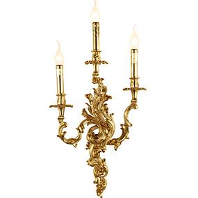 povoljno Lámpatestek-ZHISHU Kreativan / Šminka Retro / Tradicionalni / klasični Zidne svjetiljke Stambeni prostor / Unutrašnji Bakar zidna svjetiljka 110-120V / 220-240V 5 W