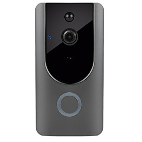 preiswerte Video Türsprechanlage-hd 1080p wifi drahtlose 2,4 ghz 10 mt pir zweiwege audio 3,6mm objektiv 166 ° betrachtungswinkel smart home türklingel ir video visuelle ring intercom überwachungskamera tür zubehör