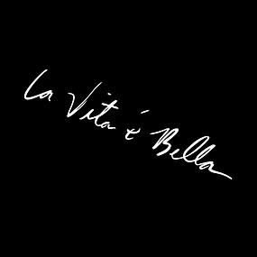 levne Dekorace automobilových nárazníků-Samolepky na auto 22cm nálepky la vita e bella reflexní písmena vinyly samolepky módní kreativní auto celé tělo stylingové nálepky