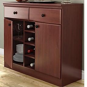 preiswerte Küchenschränke-esszimmer buffet sideboard konsolentisch in kirschholzoptik