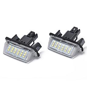 povoljno Svjetlo za registarske tablice-18-smd 3w vodio svjetlo registarske pločice za toyota camry yaris
