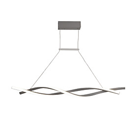 cheap Shop Lighting by Room-JSGYlights 2-Light 12 cm Chandelier Aluminum Silica gel Island Painted Finishes Modern Nordic Style 110-120V 220-240V