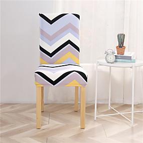 preiswerte Schonbezüge-Stuhlabdeckung Zeitgenössisch Bedruckt Polyester Überzüge