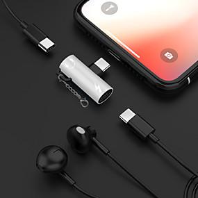 저렴한 케이블 & 충전기-2 in 1 이어폰 뮤직 충전 유형 -c 3.5 mm 오디오 어댑터 케이블 삼성 huawei xiaomi 소니 htc 모토로라 요법.