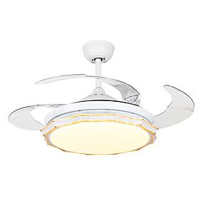 cheap Ceiling Fan Lights-1-Light QINGMING® 108 cm Mini Style / Tri-color Ceiling Fan Metal Mini Painted Finishes LED / Modern 110-120V / 220-240V
