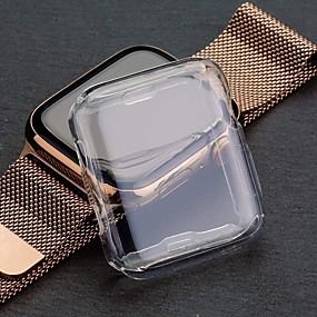 preiswerte Smartwatch-Fall-ultradünne weiche TPU transparente Schutzhülle für Apple Watch Serie 4 44mm 40mm