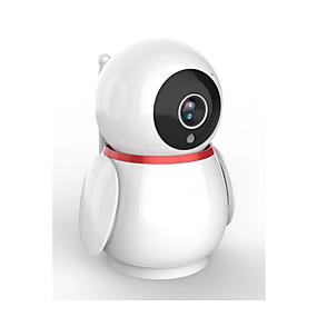 preiswerte Innen IP-Netzwerk Kameras-wifi intelligente Kamera des Babys nwr-y11 mit Bewegungsip-Kamera-drahtlosem Babykameraweiß 1080p alexa / google tuya
