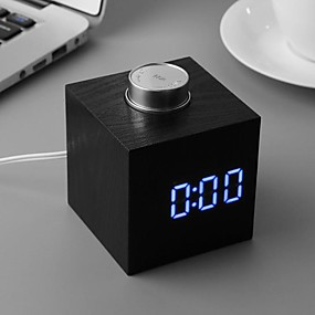 cheap New Arrivals-TS-T13 Digital Clock Knob White Led Alarm With Temperature Indoor decorations