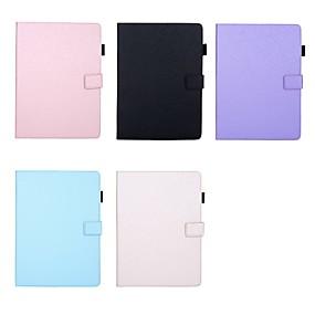 cheap iPad case-Case For Apple iPad mini 5/ Pro 11 2020 Auto Sleep/Wake Up/Magnetic/Flip Full Body Case Solid Colored Hard PU Leather iPad Pro 9.7''/iPad (2017)/(2018)/Pro 10.5 2019/Air 2/10.2/Mini 1/2/3/4