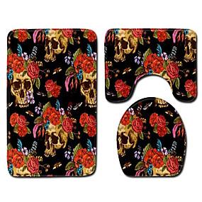 voordelige Matten & Tapijten-1 set Klassiek Badmatten 100g / m² Polyester Gebreid en Gestrekt Nieuwigheid / Vintage Anti-slip / Creatief