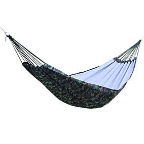 preiswerte Sport & Outdoor-Campinghängematte Außen Atmungsaktivität Oxford Tuch für 1 - 2 Personen Camping Camouflage 200*150 cm