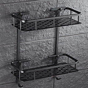 preiswerte Sales-Badezimmer Regal Kreativ / Multifunktion Moderne Metal 1pc Wandmontage