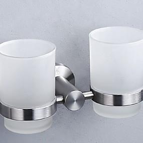 preiswerte Zahnbürstenhalter-Zahnbürstenhalter Kreativ / Multifunktion Moderne Messing 3 Stück Wandmontage