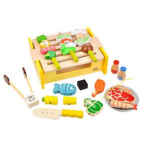 preiswerte Verkleiden & Rollenspiele-Spielessen Kinderkochgeräte Tue so als ob du spielst Holz Kinder Spielzeuge Geschenk 1 pcs