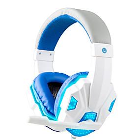 levne Hraní her-3,5 mm sluchátka herní sluchátka hráč stereo herní sluchátka s mikrofonem vedl