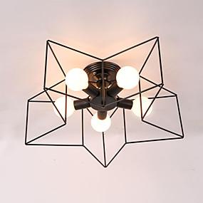 preiswerte Ausverkauf-5-Licht Sputnik / Industriell Einbauleuchten Raumbeleuchtung Lackierte Oberflächen Metall Kreativ 110-120V / 220-240V