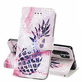 povoljno Maske za mobitele-Θήκη Za Huawei Huawei P20 Pro / Huawei P20 lite / Huawei P30 Novčanik / Utor za kartice / Otporno na trešnju Korice Hrana Tvrdo PU koža