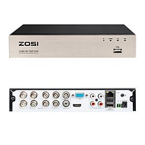 preiswerte DVRs & DVR Karten-zosi 8ch 720p DVR Sicherheit Videorecorder BNC P2P-Service mobile Fernüberwachung 8-Kanal-DVR-Smartphone&Einfacher Fernzugriff auf den PC 4 in 1 digitaler Multifunktions-Videorecorder mit