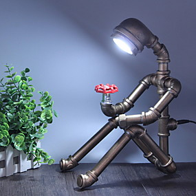 cheap Table Lamps-Table Lamp Artistic For Study Room Office Indoor Metal 220V