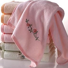 preiswerte Badehandtuch Set-Gehobene Qualität Badehandtuch Set, Blumen Reine Baumwolle Bad 1 pcs