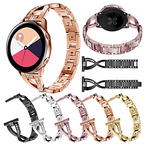 cheap Smartwatch Bands-Watch Band for Samsung Galaxy Watch 42 / Samsung Galaxy Active Samsung Galaxy Jewelry Design Stainless Steel Wrist Strap