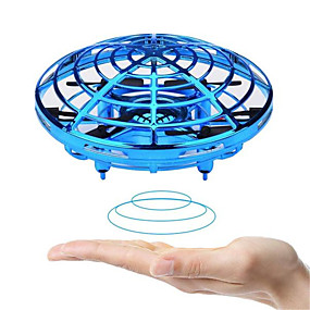 cheap Activity Toys-Anti-collision Flying Helicopter Magic Hand UFO Ball Aircraft Sensing Mini Induction Drone Kids Electric Electronic Toy