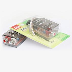 billige Lydanlæg til bilen-bil lyd konvertering modifikation høj til lav lyd konverter modifikation kit