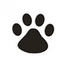 billige Tilbehør til eksteriør-4stk / sett morsomme kreative hund / katt tass dekorasjonsdekaler bil klistremerker full body styling klistremerke