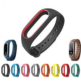 preiswerte Smartwatch-Bands-arbeiten Sie einfaches weiches Silikon ersetzen Armbandarmbandarmband für xiaomi MI-Band 2 um