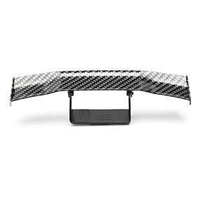 cheap Car Tail Decoration-Mini Carbon Fiber Rear Tail Spoiler Wing Empennage Body Kit Trim Decoration