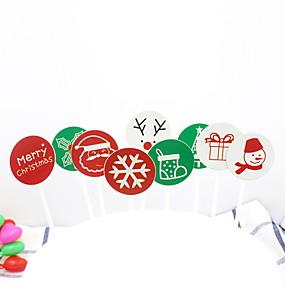 preiswerte Weihnachten-2pcs Spezielle Werkstoff Kreativ Für Kuchen Dessert Dekorateure Backwerkzeuge