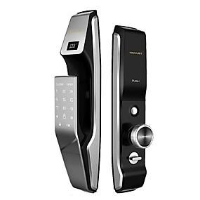 preiswerte Türschlösser-Smart Lock Fingerabdruck Passwortsperre Smart Lock Hersteller Anti-Diebstahl-Fingerabdruck-Sperre Haushalt automatische Fingerabdruck-Sperre