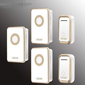 cheap Doorbell Systems-Wireless doorbell smart doorbell old caller digital doorbell waterproof two to three doorbell
